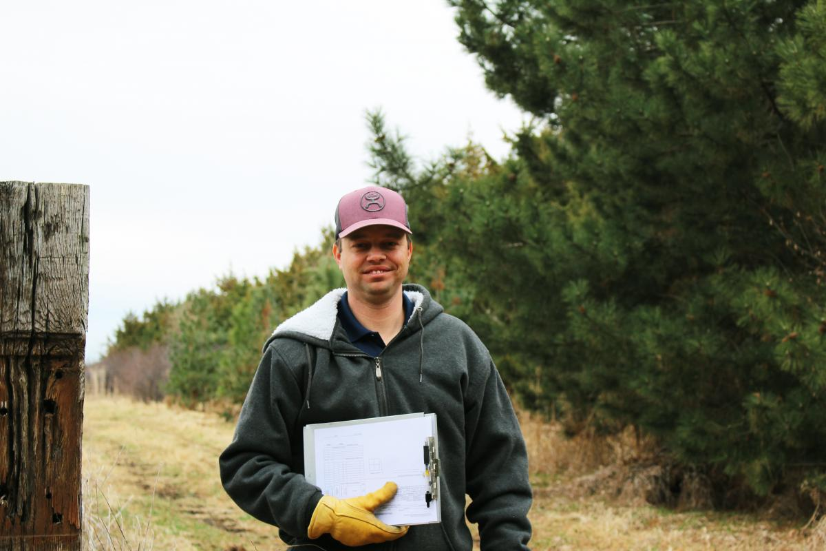 Kyle Yrkoski, district forester
